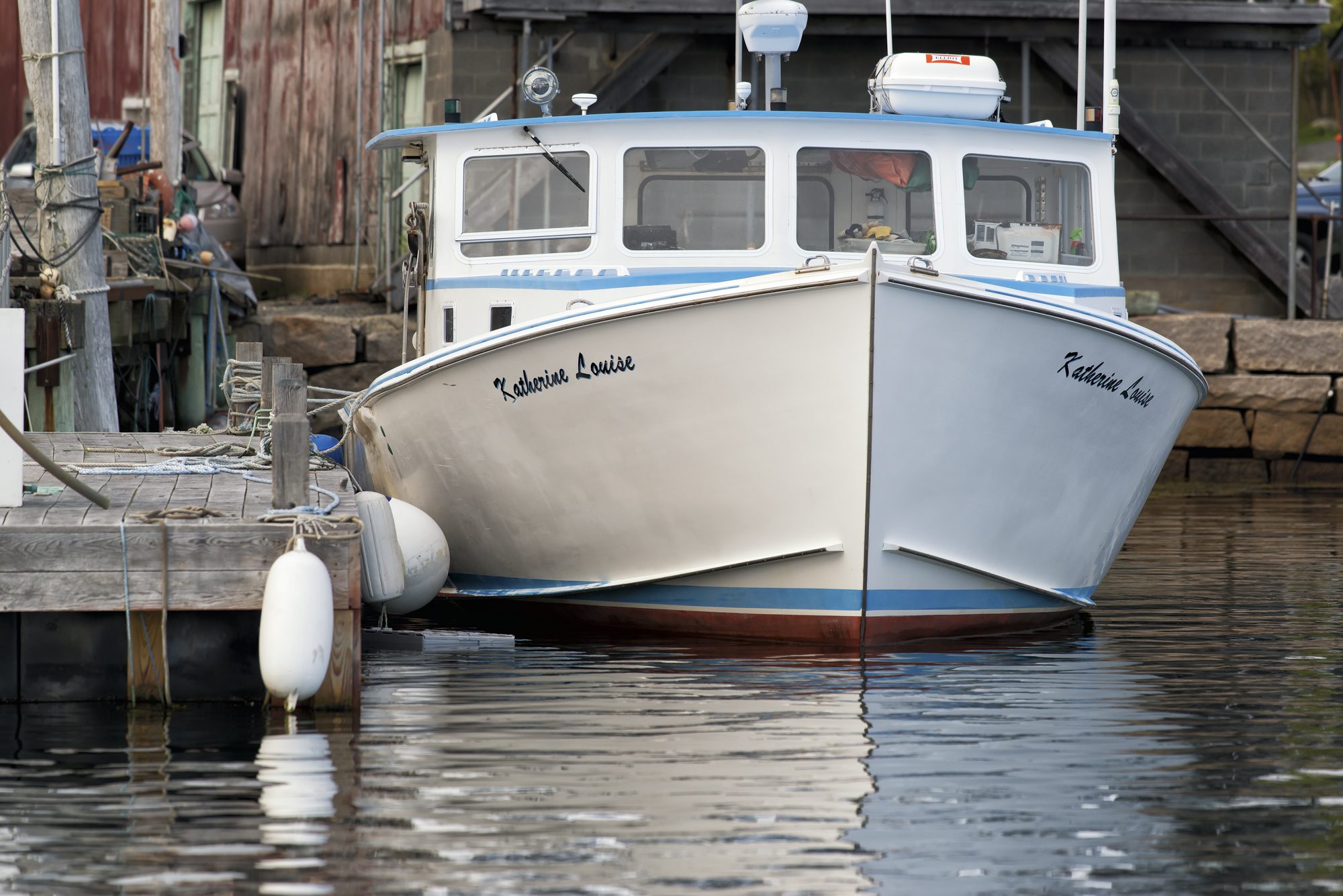 Katherine Louise lobster boat out of Southwest Harbor, Maine