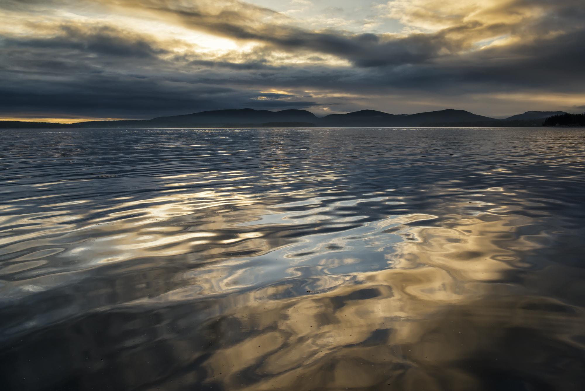 Skypool sunset, Mount Desert Island, Maine
