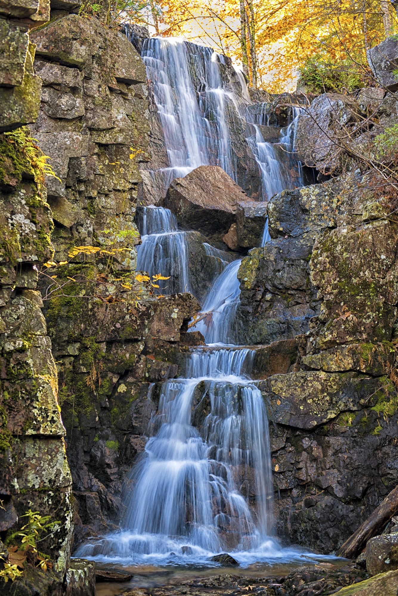 Chasm Brook Waterfalls, Acadia National Park, Maine