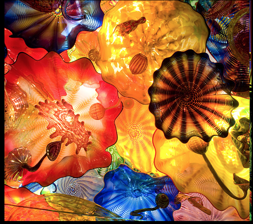 Chihuly Persian Ceiling, Seattle, WA