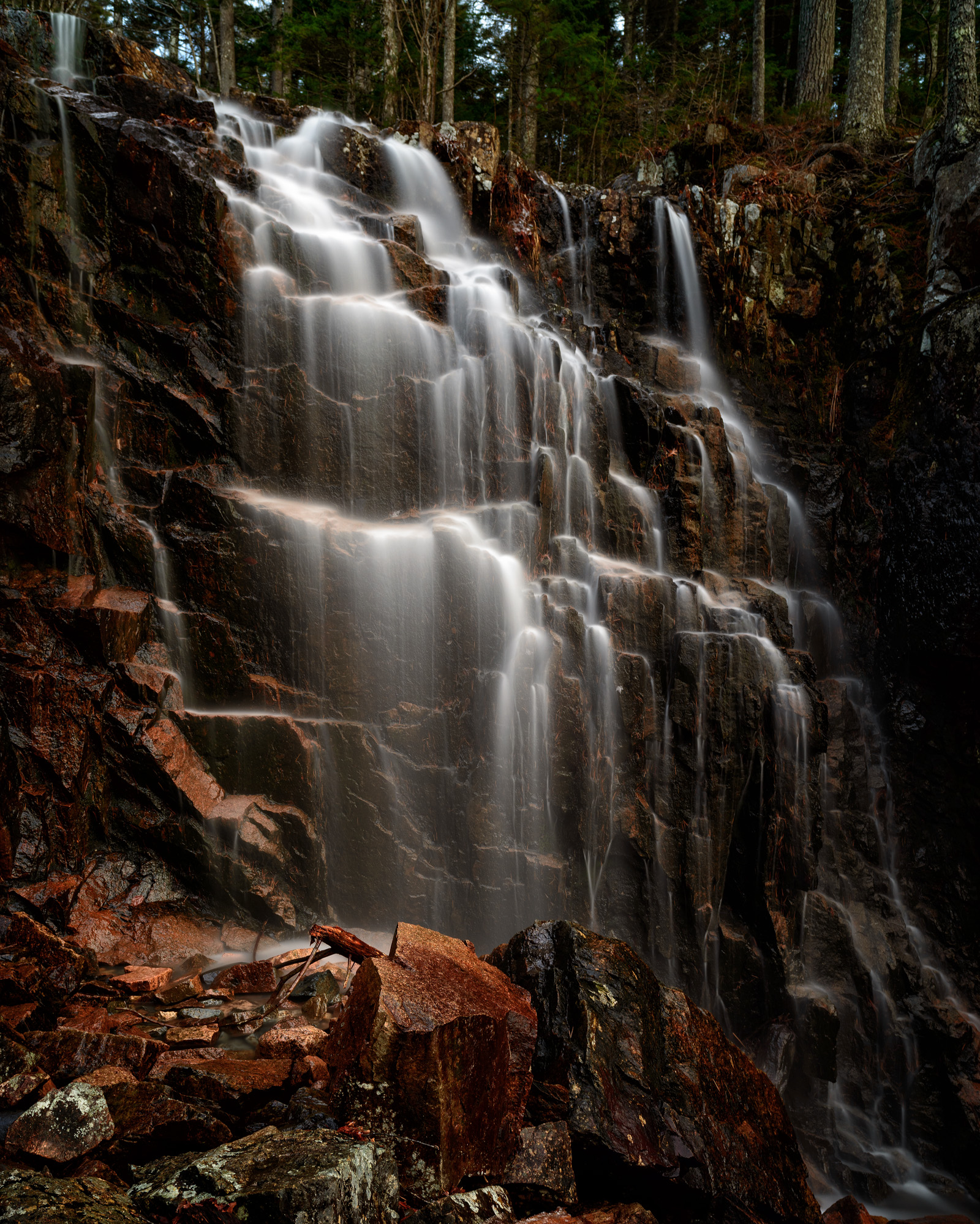 Hadlock Brook Falls, Acadia National Park, Maine