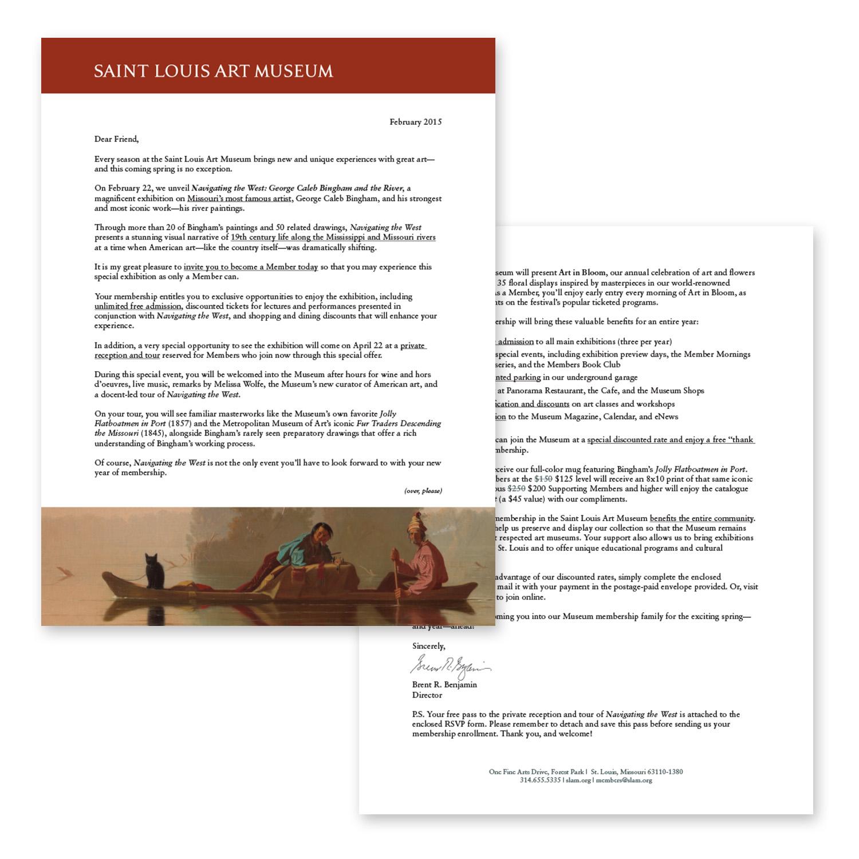 new membership letter