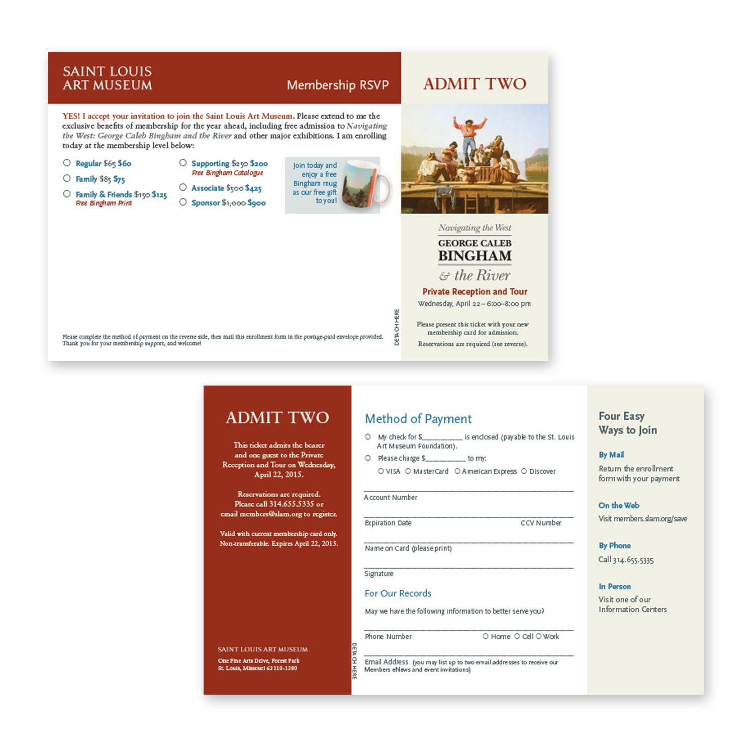 order form and voucher