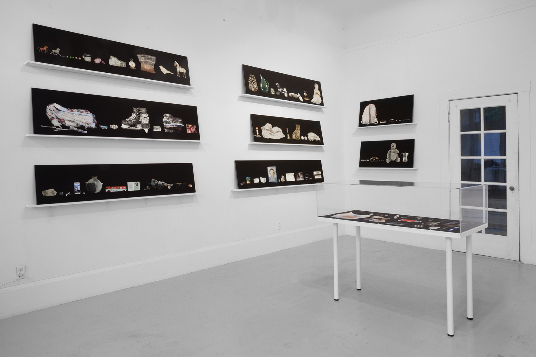 "Installation of, ""Sentimental Taxonomy,"" at Random Parts Gallery in Oakland, CA"