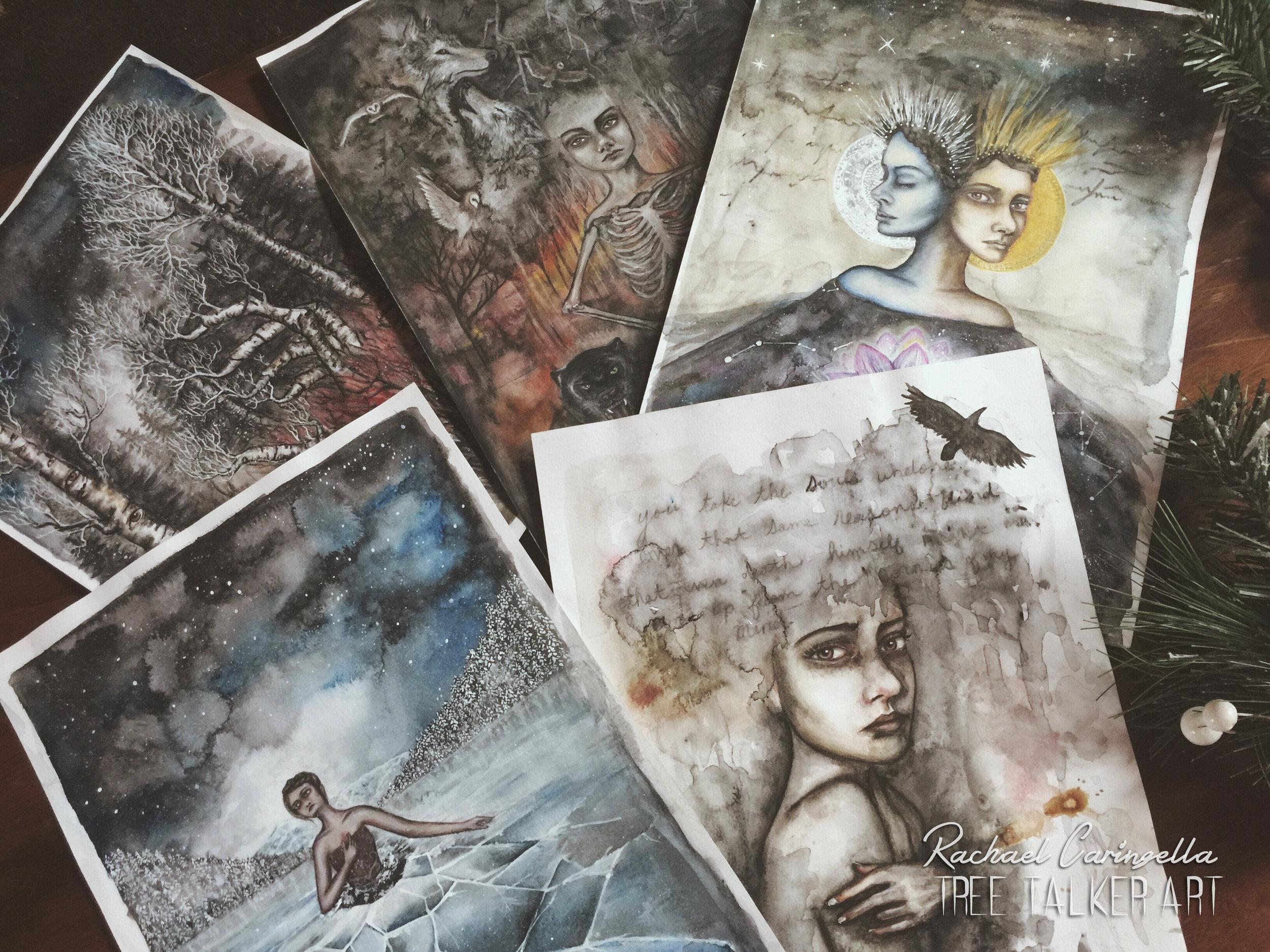 Art Journaling With Rachael Caringella of Tree Talker Art