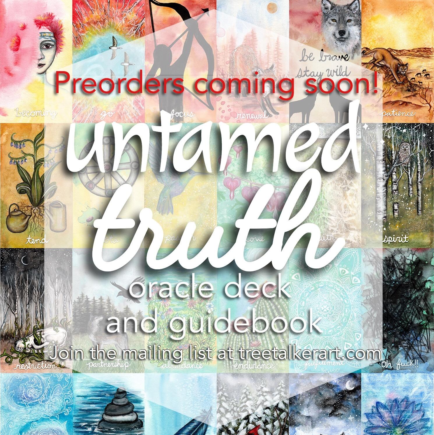 Untamed Truth Oracle Deck