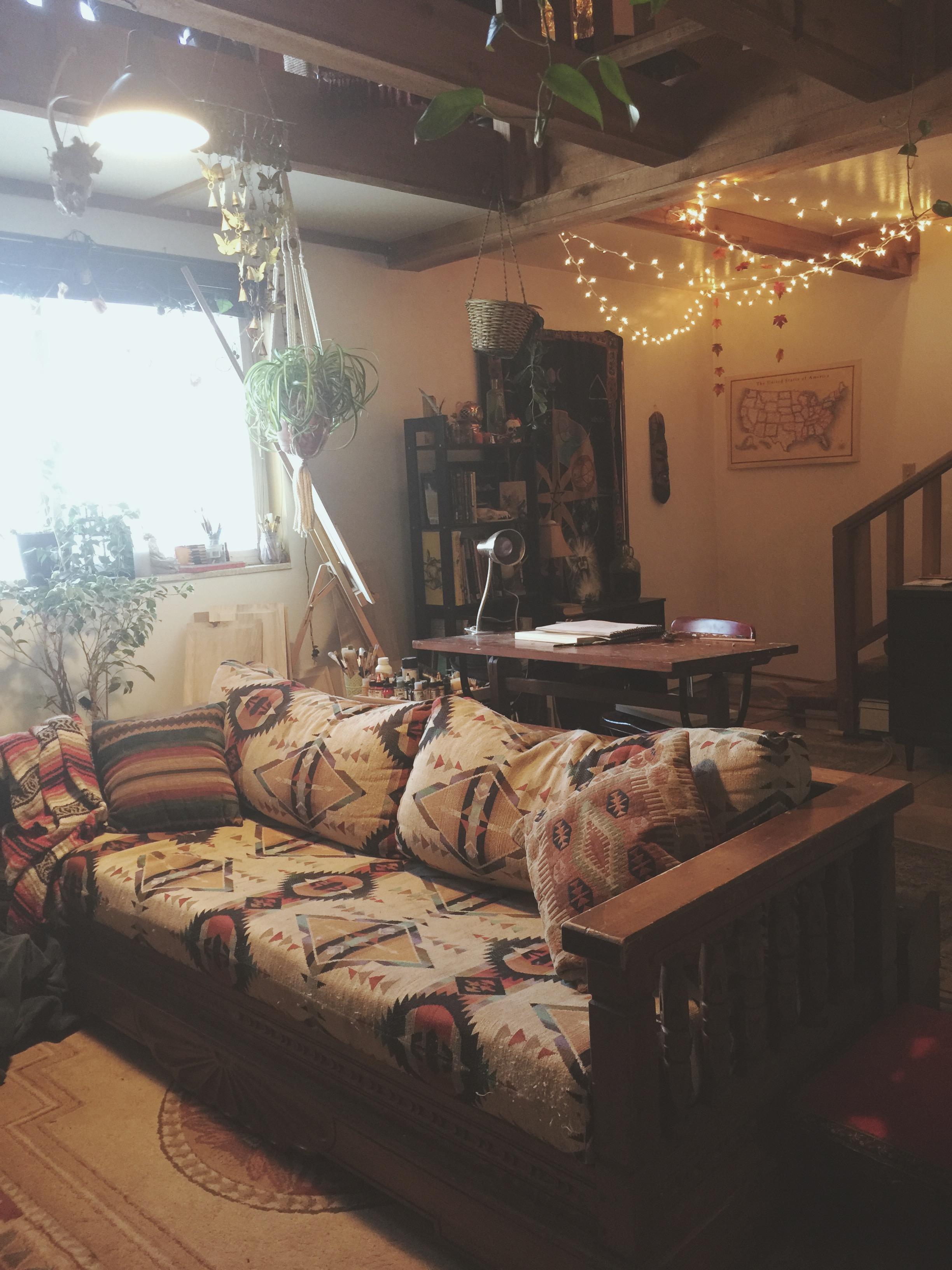 Downstairs Art Studio | Tree Talker Art