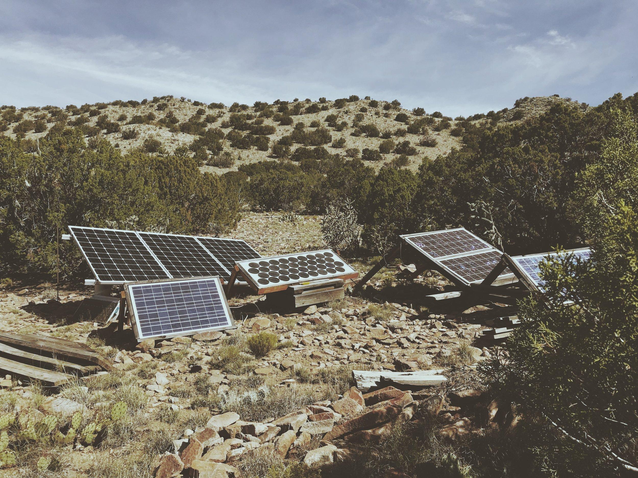 Solar Powered Set Up | Off Grid Living