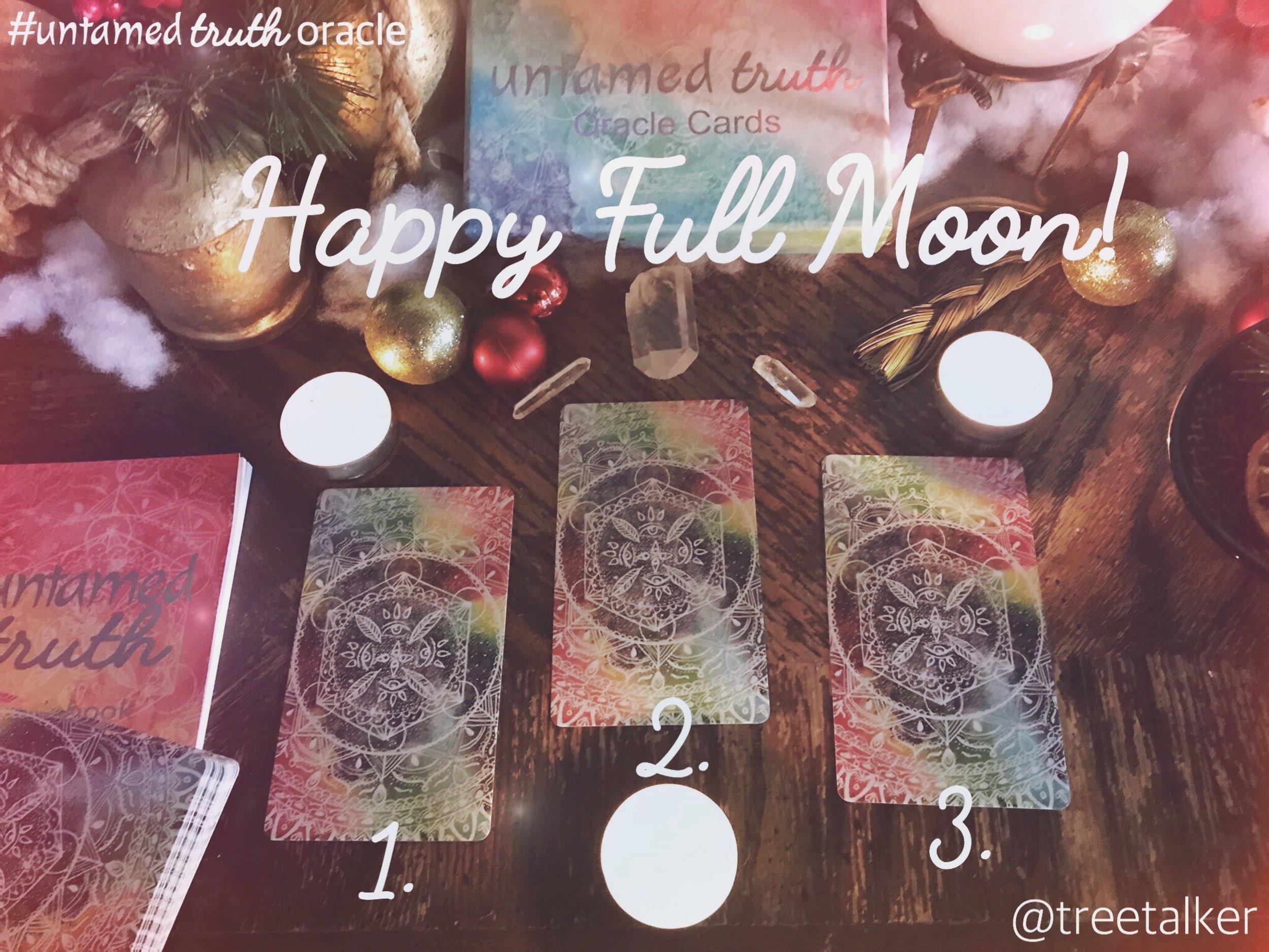 Full Moon Reading with Untamed Truth Oracle | Rachael Caringella