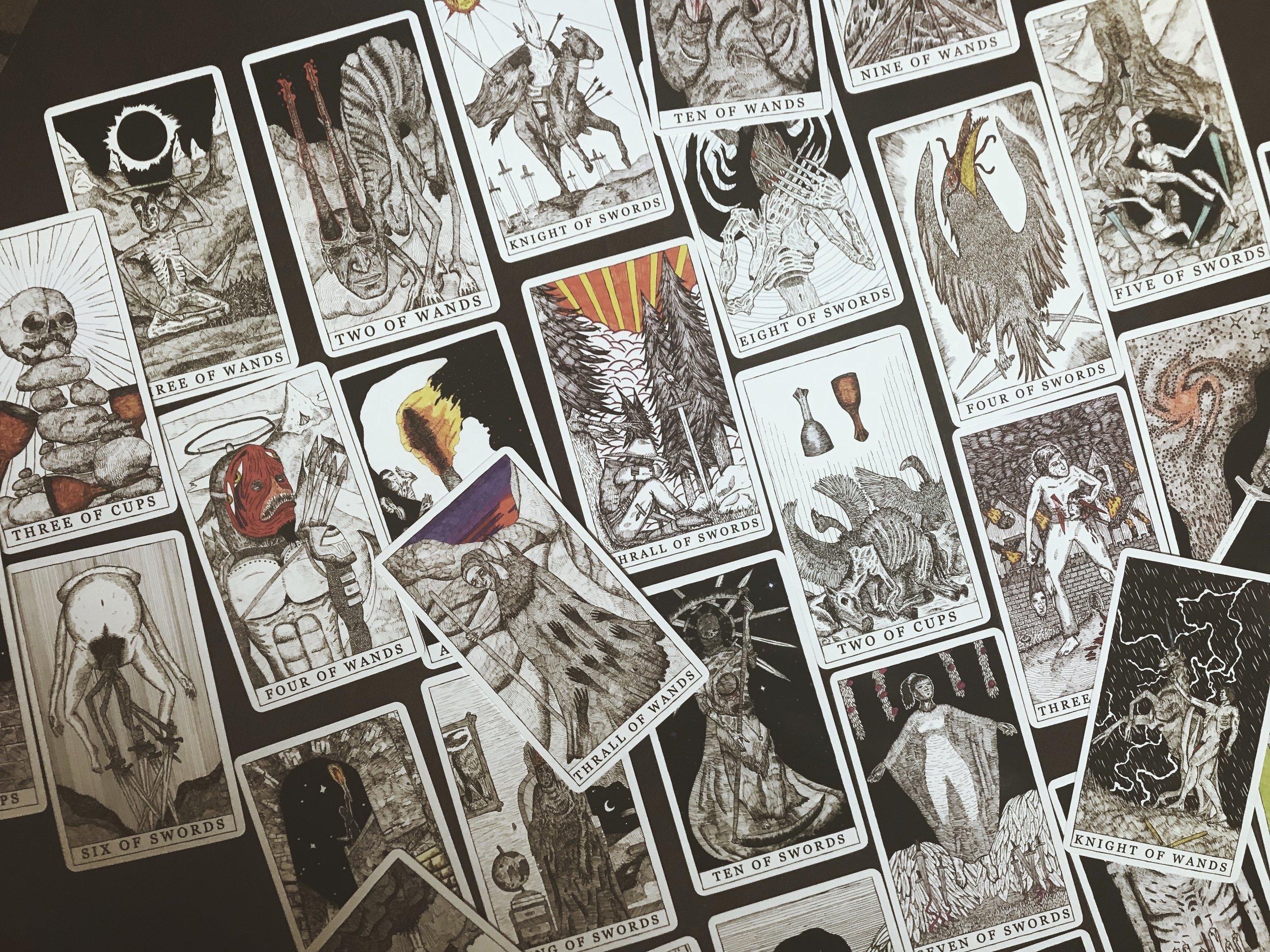 Tarot Restless | Tarot Deck Review | Tree Talker Art
