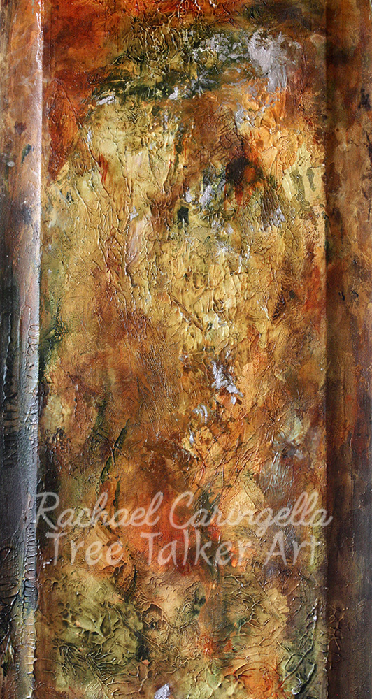 The Ghostly Hand Unveils the Glow of the Darkest Hour | Rachael Caringella | Tree Talker Art