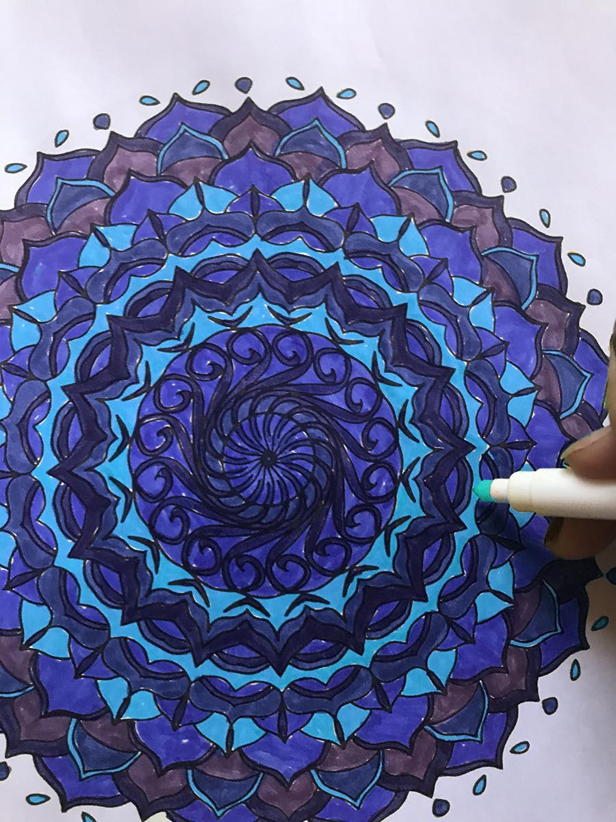 Colorable Mandala