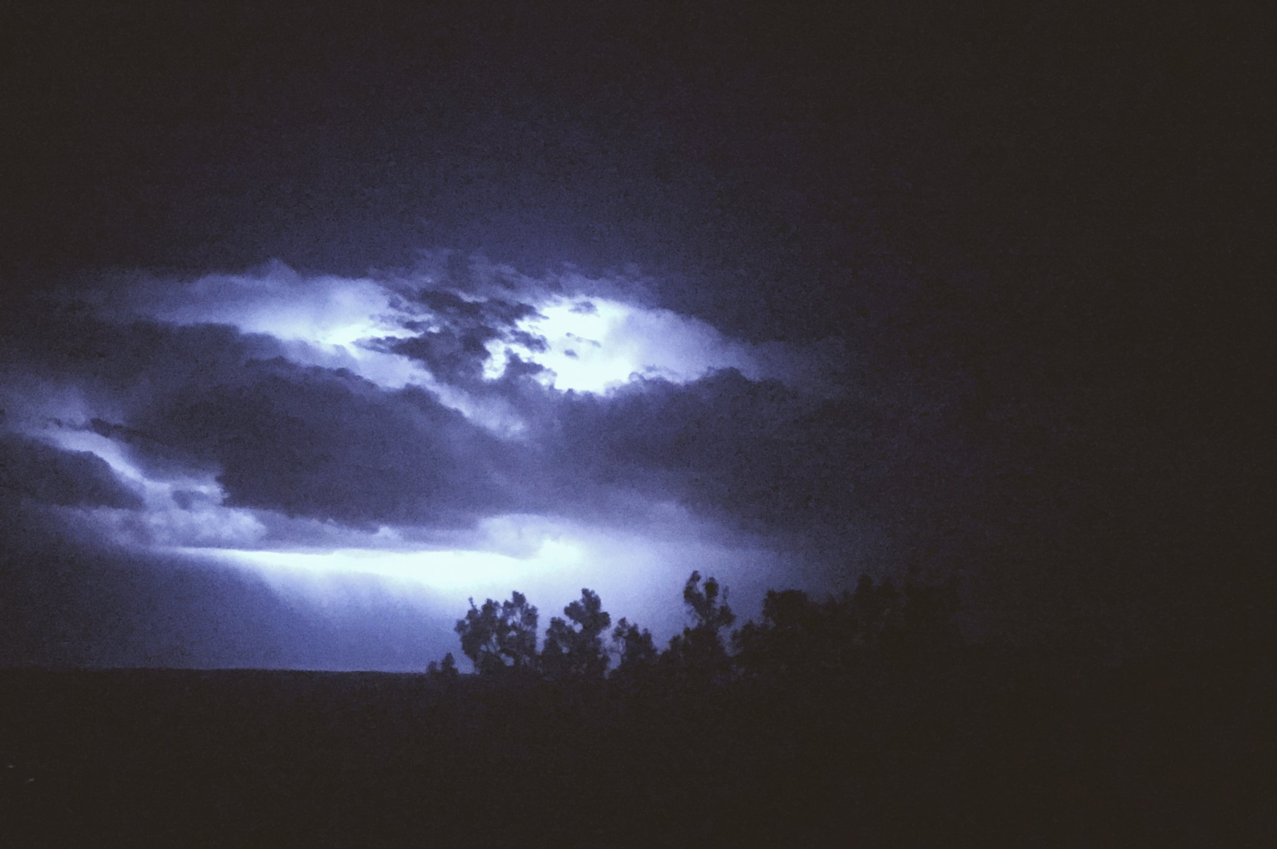 Lightning Strikes | Tree Talker Art | Offgrid artist living