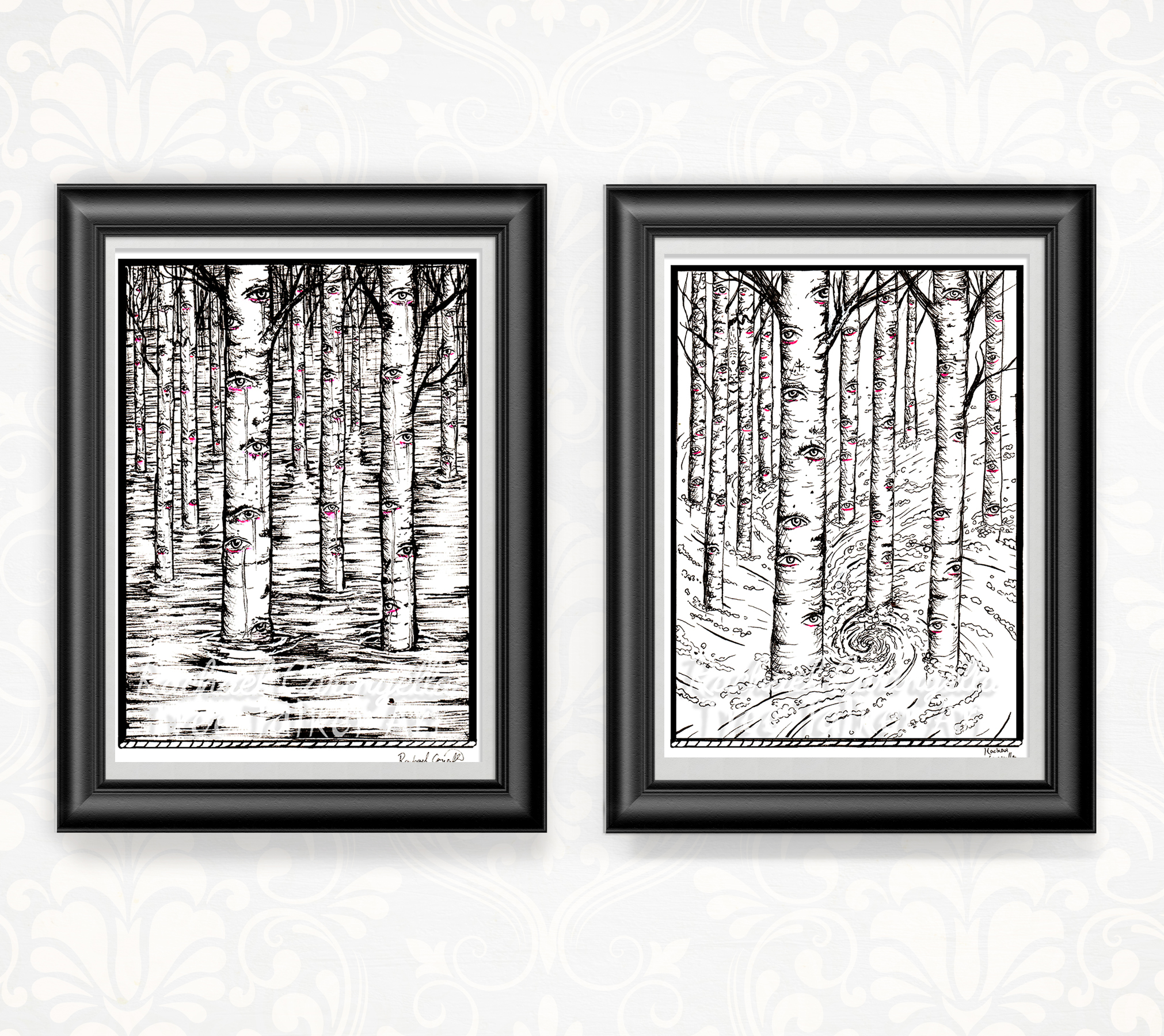 Tree Talker Art Inktober Shop Updated Dragon Art Print