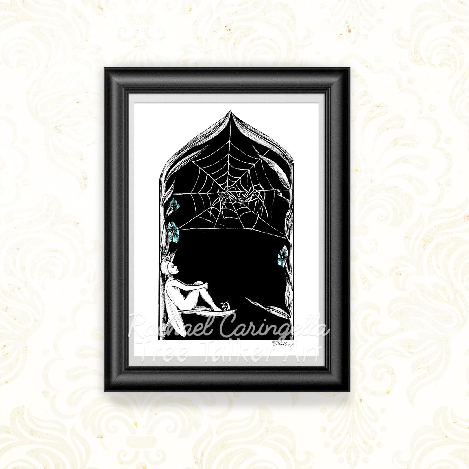 Spider Fairy Tree Talker Art | Illustration by Rachael Caringella