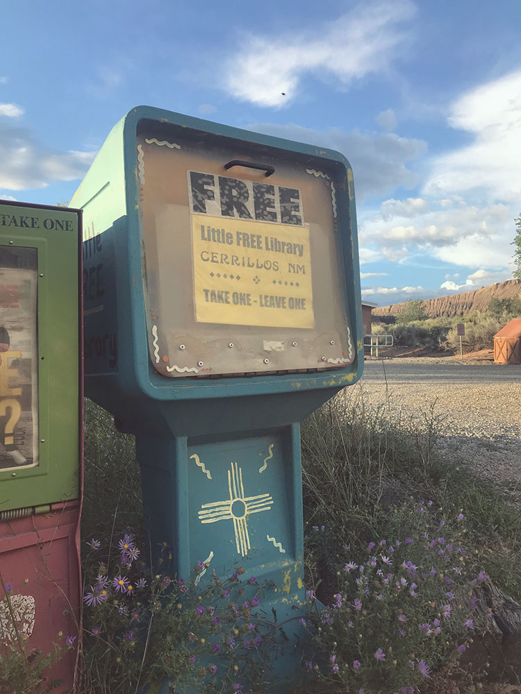 Tree Talker Art Blog | In pursuit of the numinous  | Facing the winds of change | Cerrillos