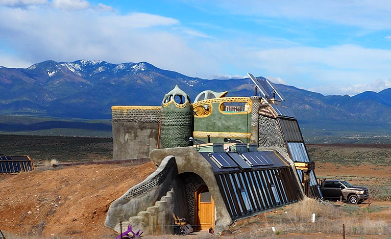 EarthShips: A House in Taos | Tree Talker Art