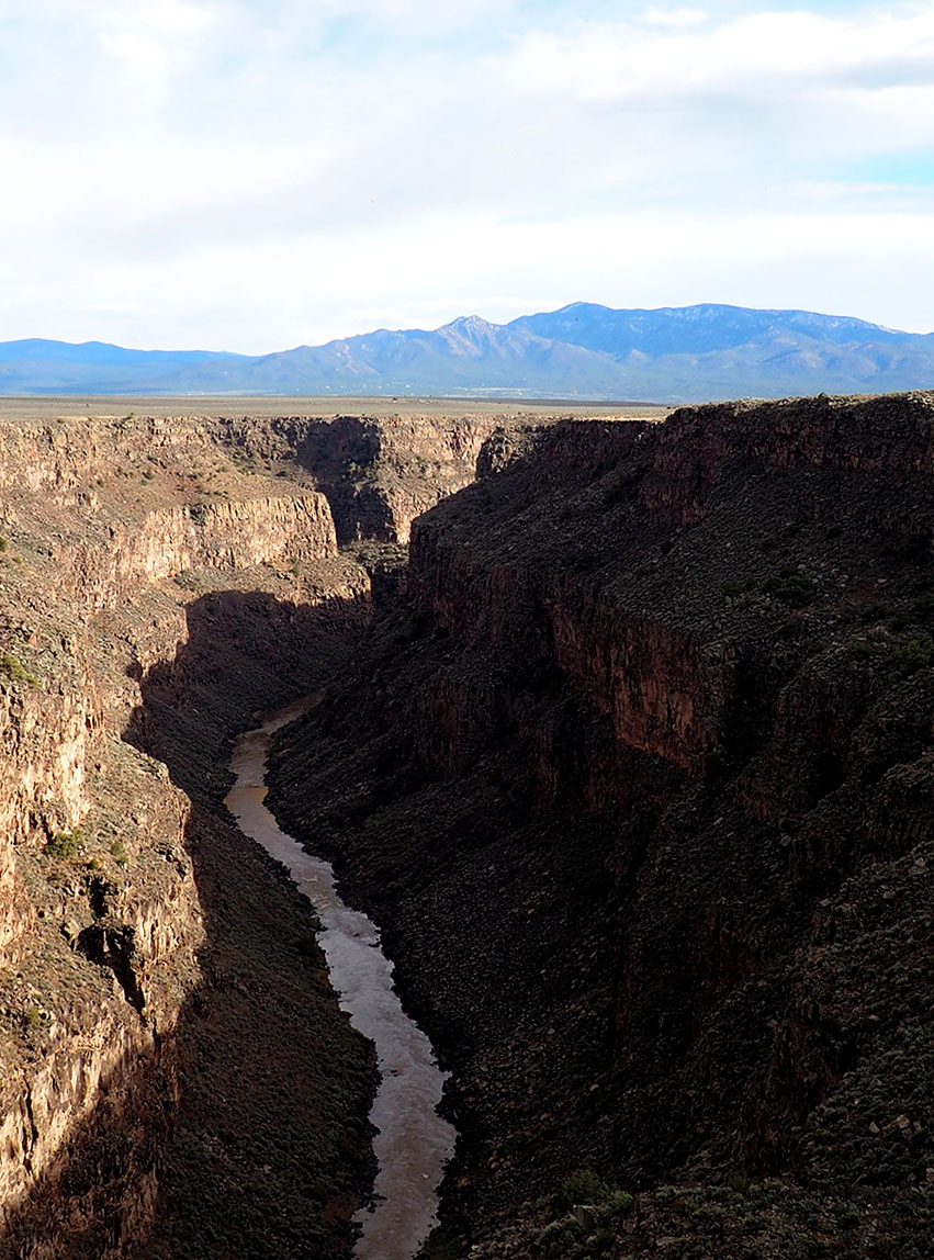 Rio Grande Gorge | Land of Enchantment : A House in Taos | Tree Talker Art