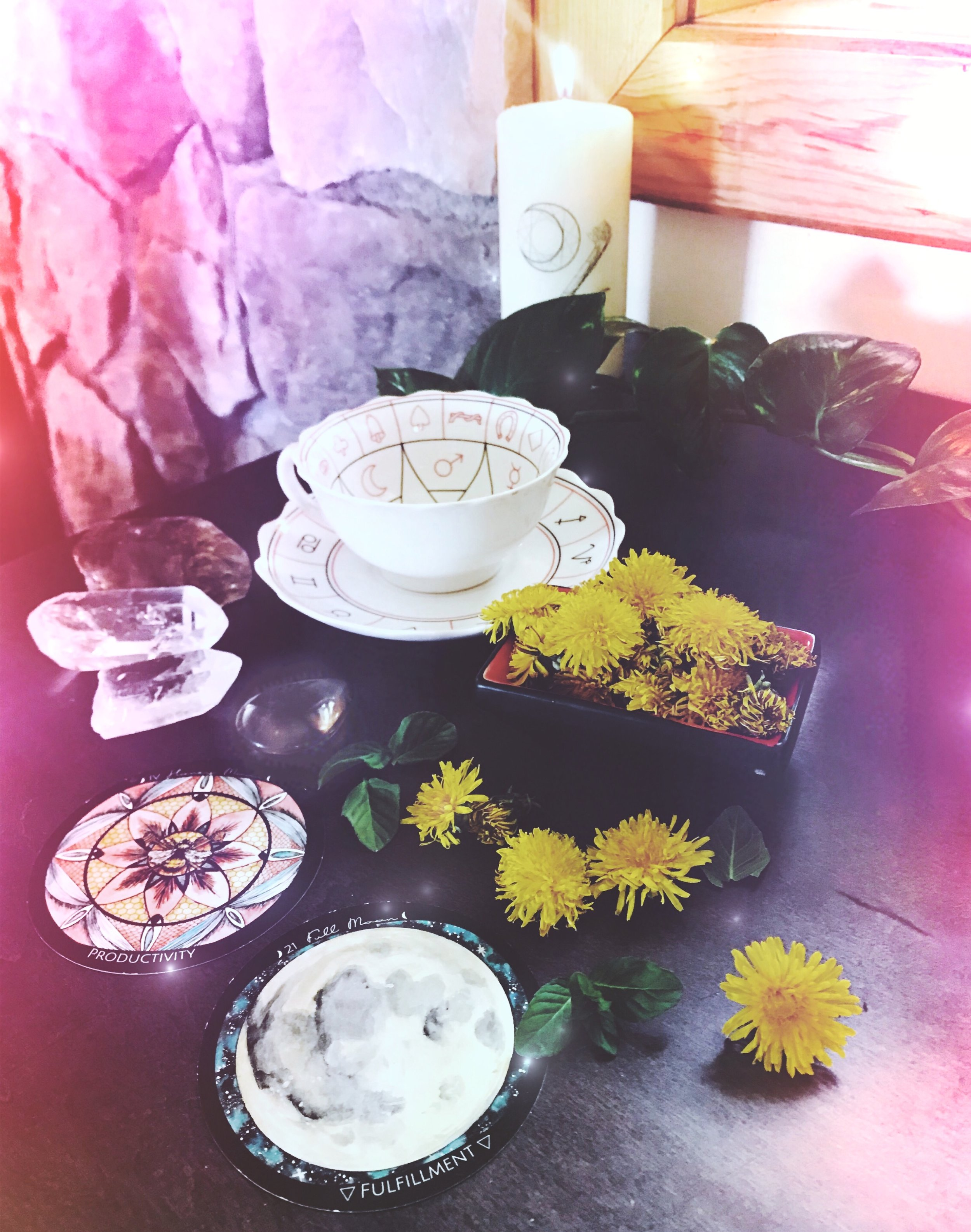 Full Moon Dandelion Divination Tea | Spirit de la Lune