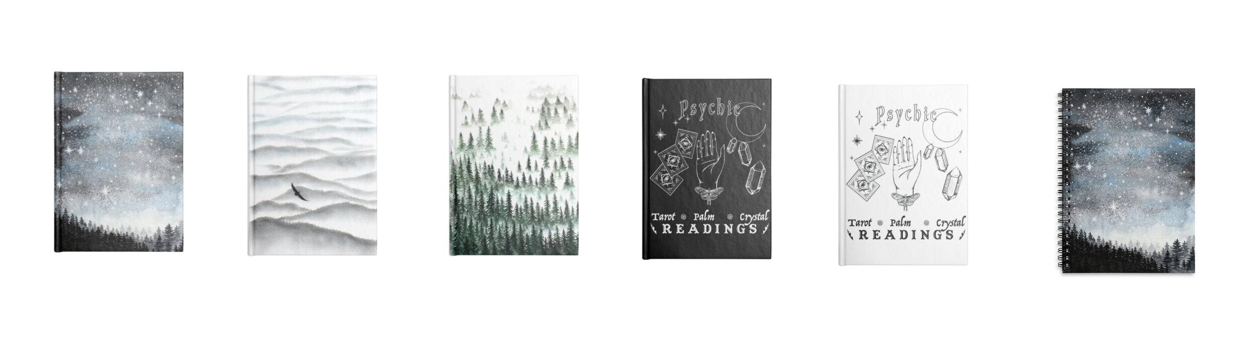Tree Talker Art Shop Update New Notebooks