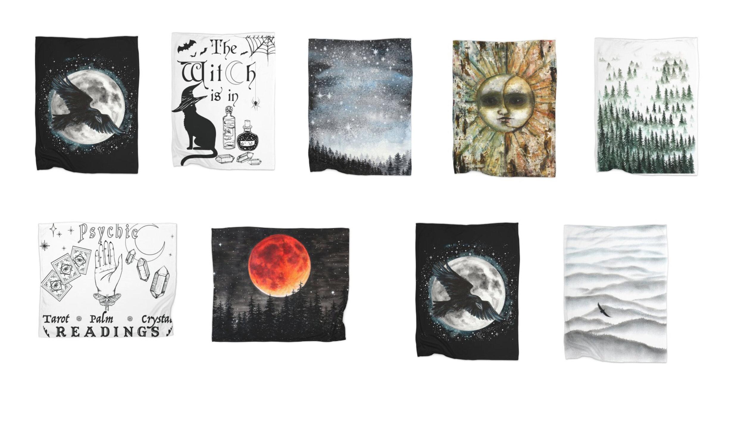 Tree Talker Art Shop Update New Blankets
