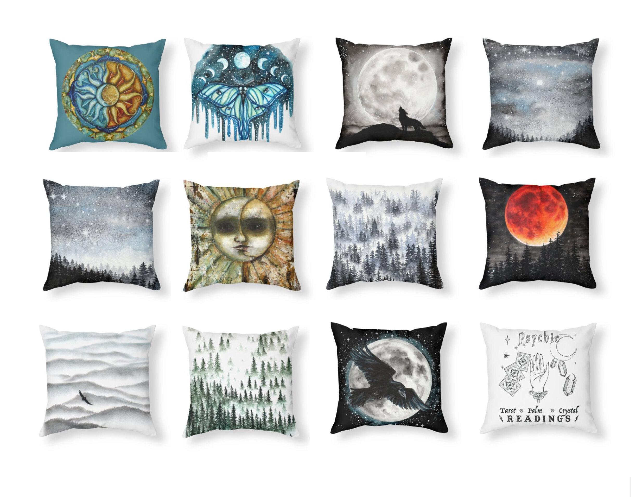 Tree Talker Art Shop Update New Pillows