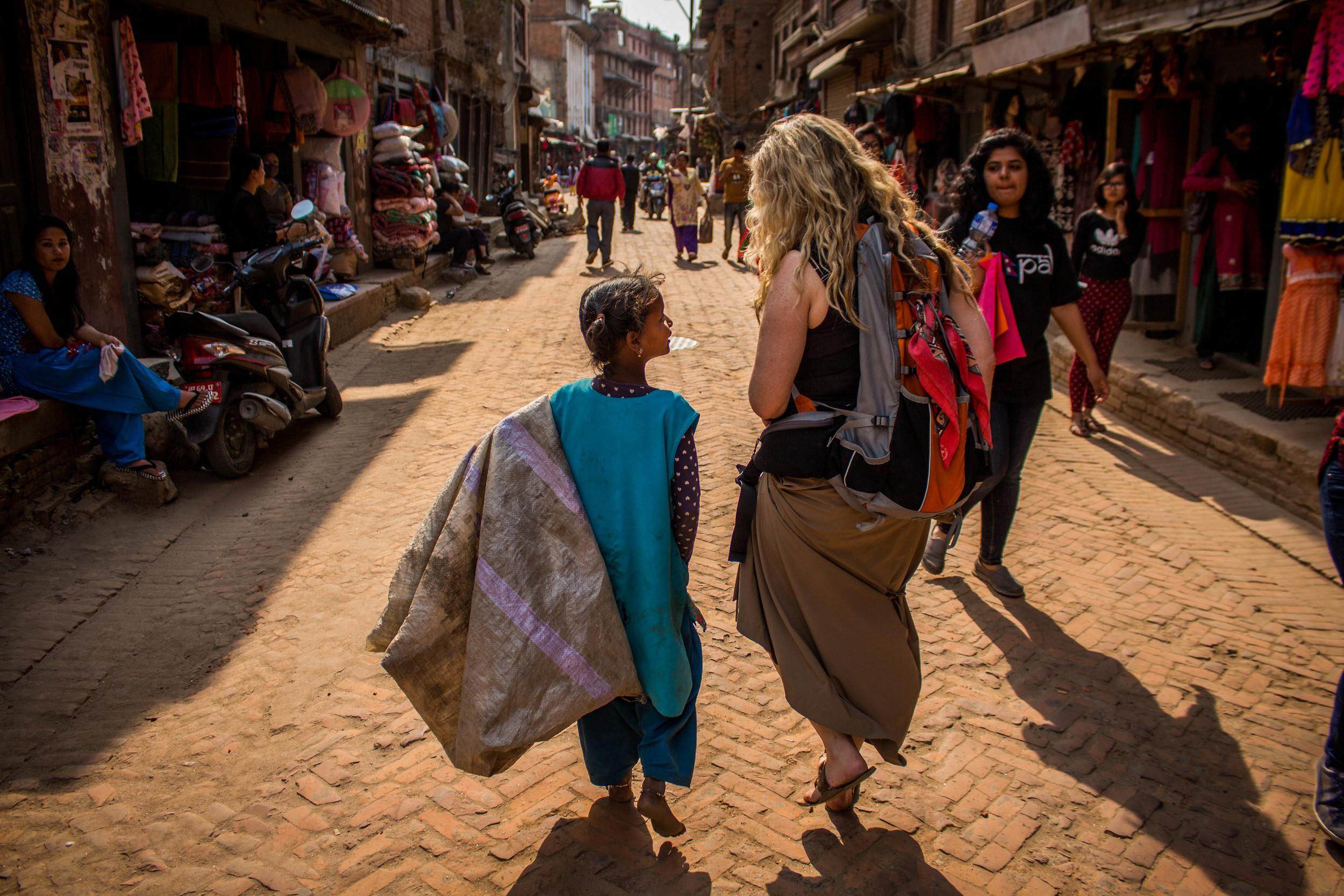Streets of Bhaktapur  |  Nepal
