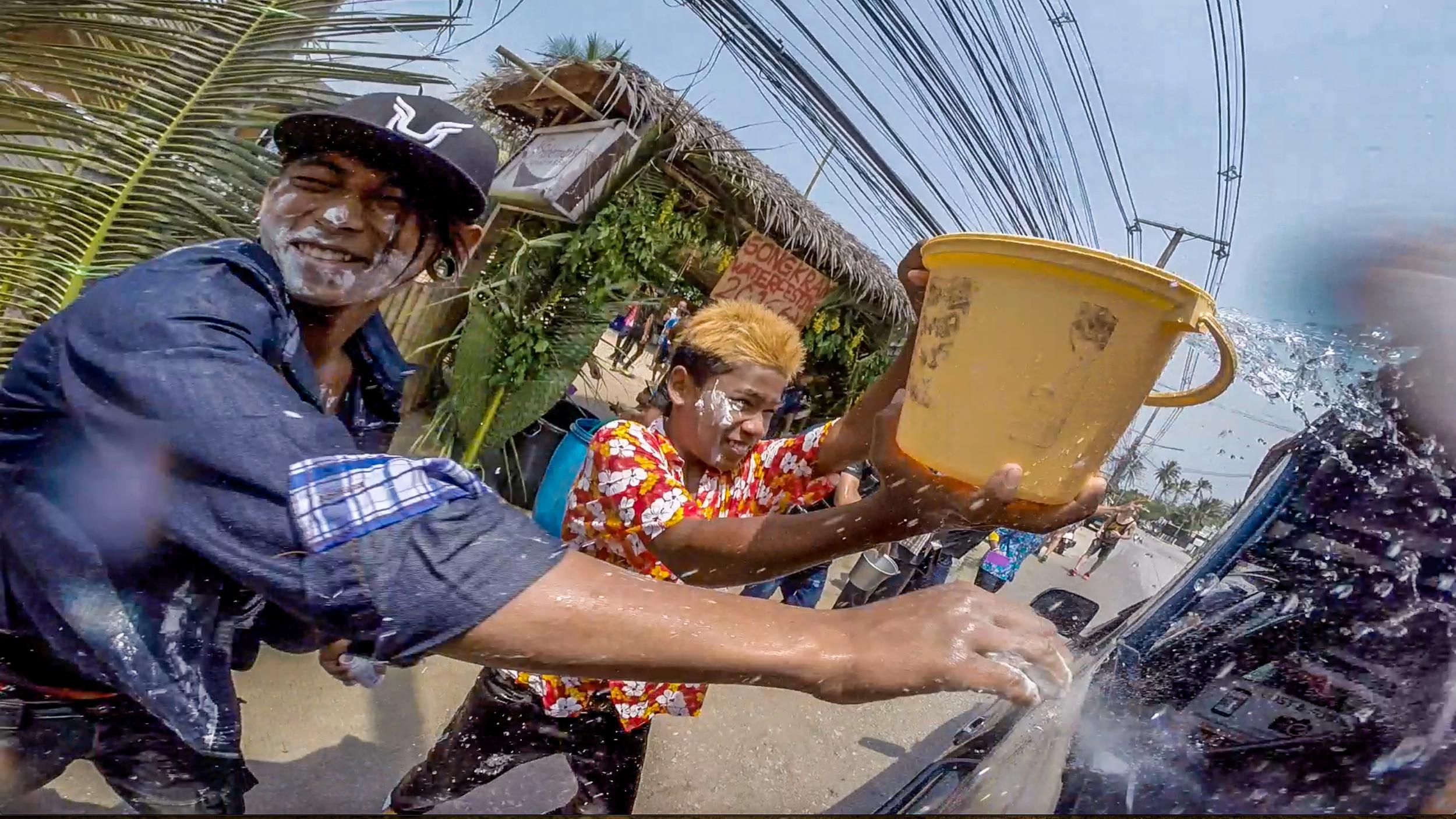 Songkran Water Festival | Koh Phangan, Thailand