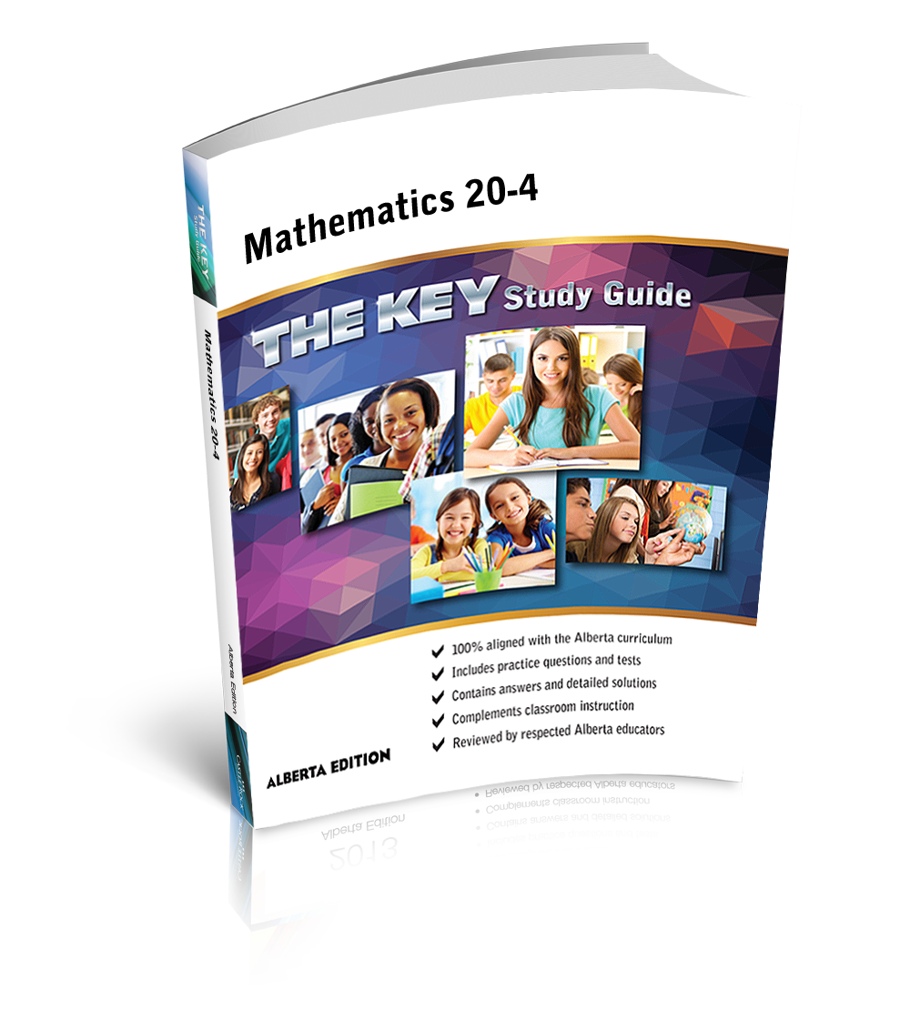 The KEY - Alberta Mathematics 20-4 — Castle Rock Research