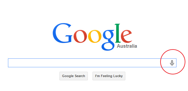 how to google voice search