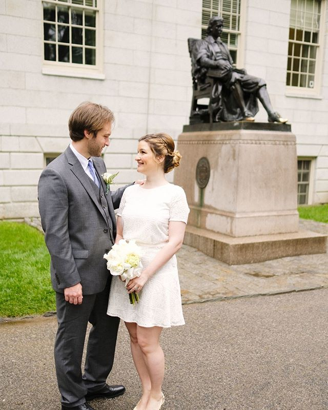 Congratulations to the sweet couple for getting your marriage certificate and diploma at the same time!  Bridal hair/makeup by @yintomstudioweddings . . . . . . . . . #cambridgemakeupartist #bostonweddingmakeupartist #cambridgecityhallwedding #weddingmakeup #makeupartist #bridalmakeup #bostonweddings #rosecolor #roselips #rosegold #nudepinklips #individuallashes #bostonmakeupartist #weddings#bridalmakeup #bridalhair#airbrushmakeup #glammakeup #wedding #bridalstyle #softglam #naturalbeauty #skincare #lipstick #falseeyelashes #beauty #bridallook