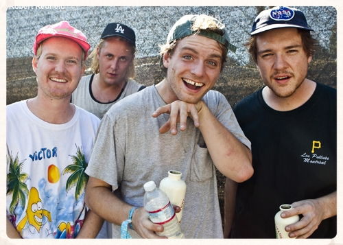 AUGUST –  New promotional portraits for the   Mac Demarco   band