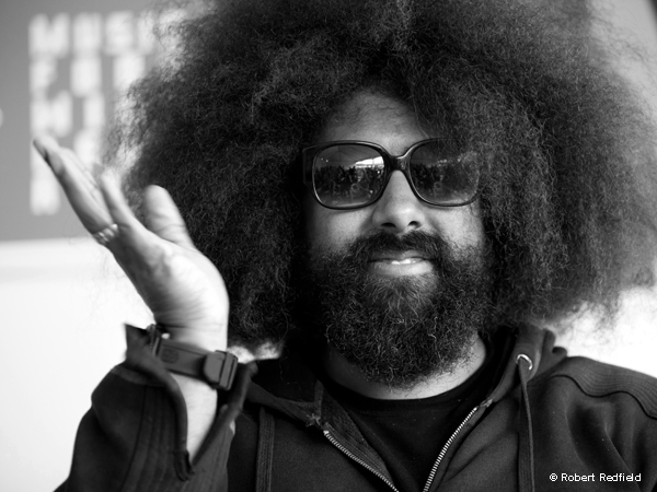 Reggie Watts  at Outside Lands 2011.