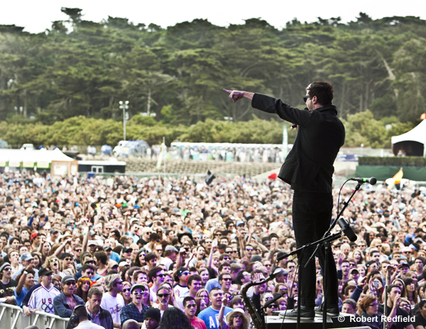 Fitz and the Tantrums  at Outside Lands.