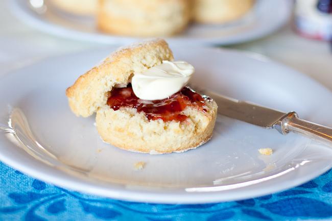 Delia Smith's buttermilk scones