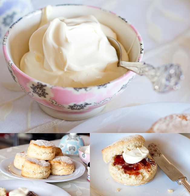 Clotted cream, a must with your warm scones!