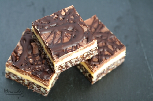 Delicious Nanaimo Bars