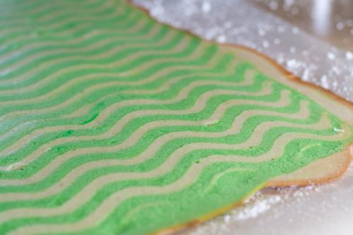 Baked biscuit jaconde