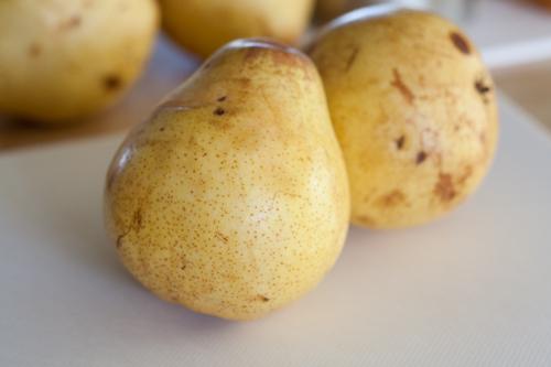 Ripe pears waiting their tasty fate