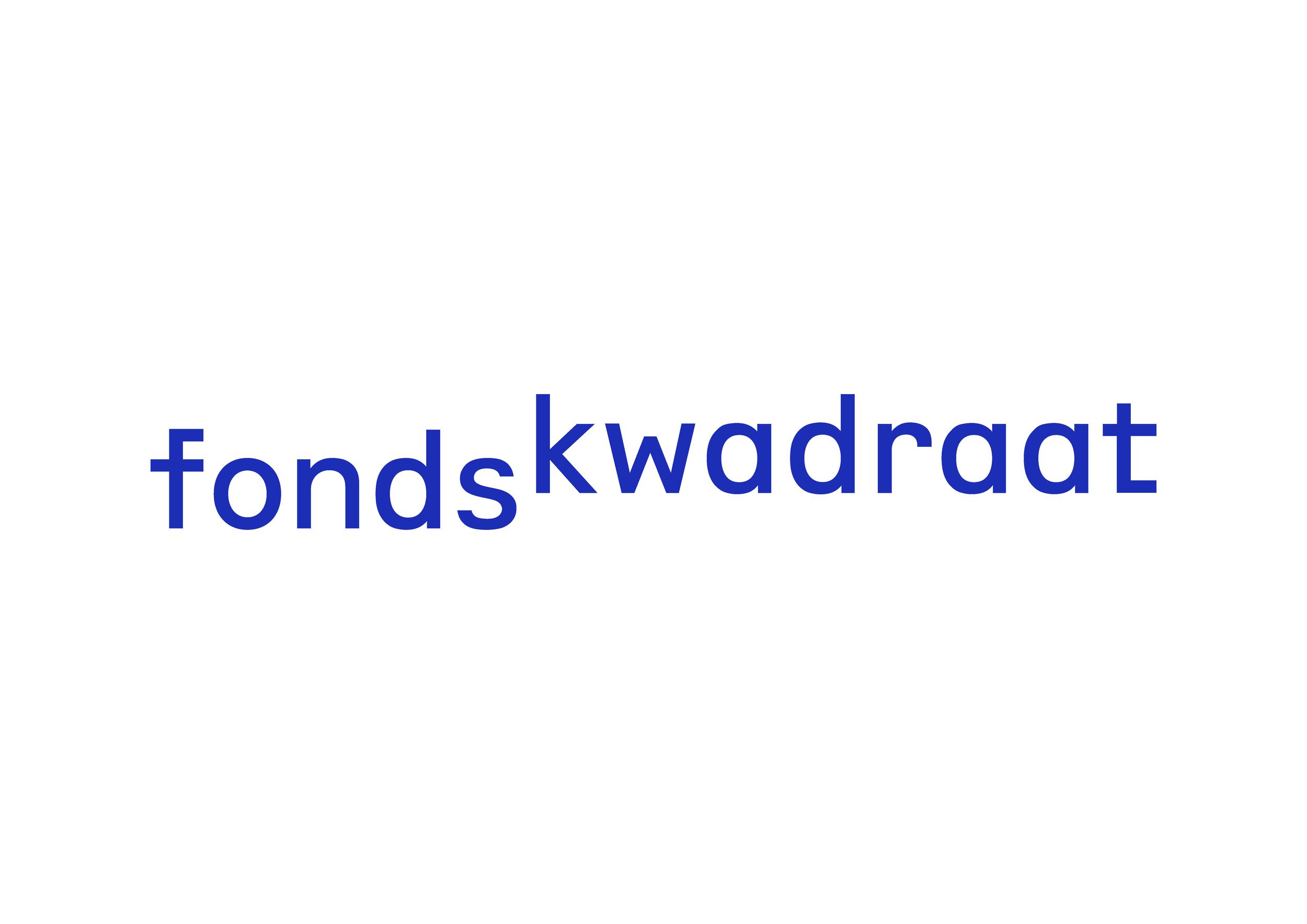 Fonds Kwadraat - Daniel van Dijck