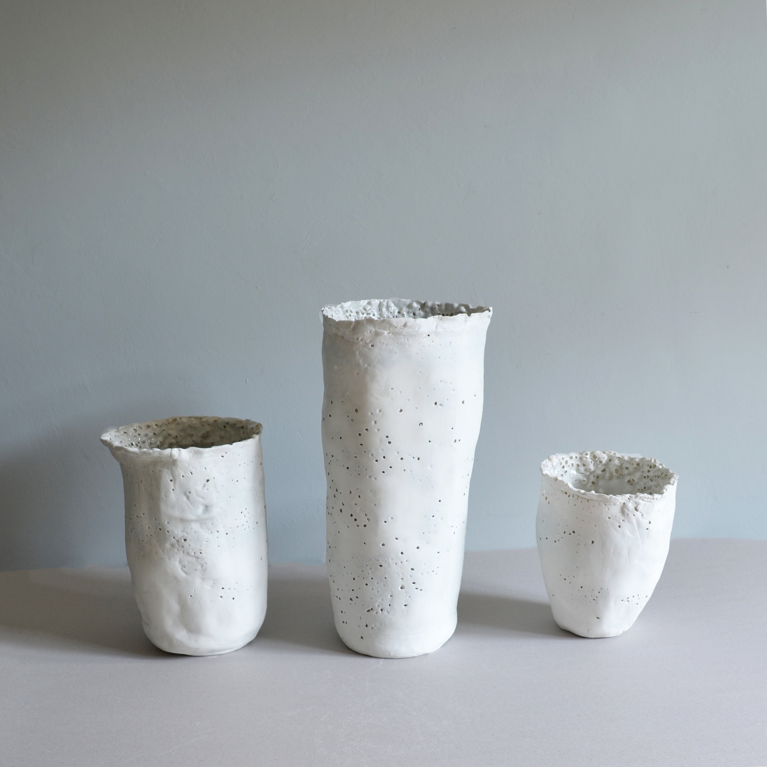 FRAGILITY OF THINGS VASES