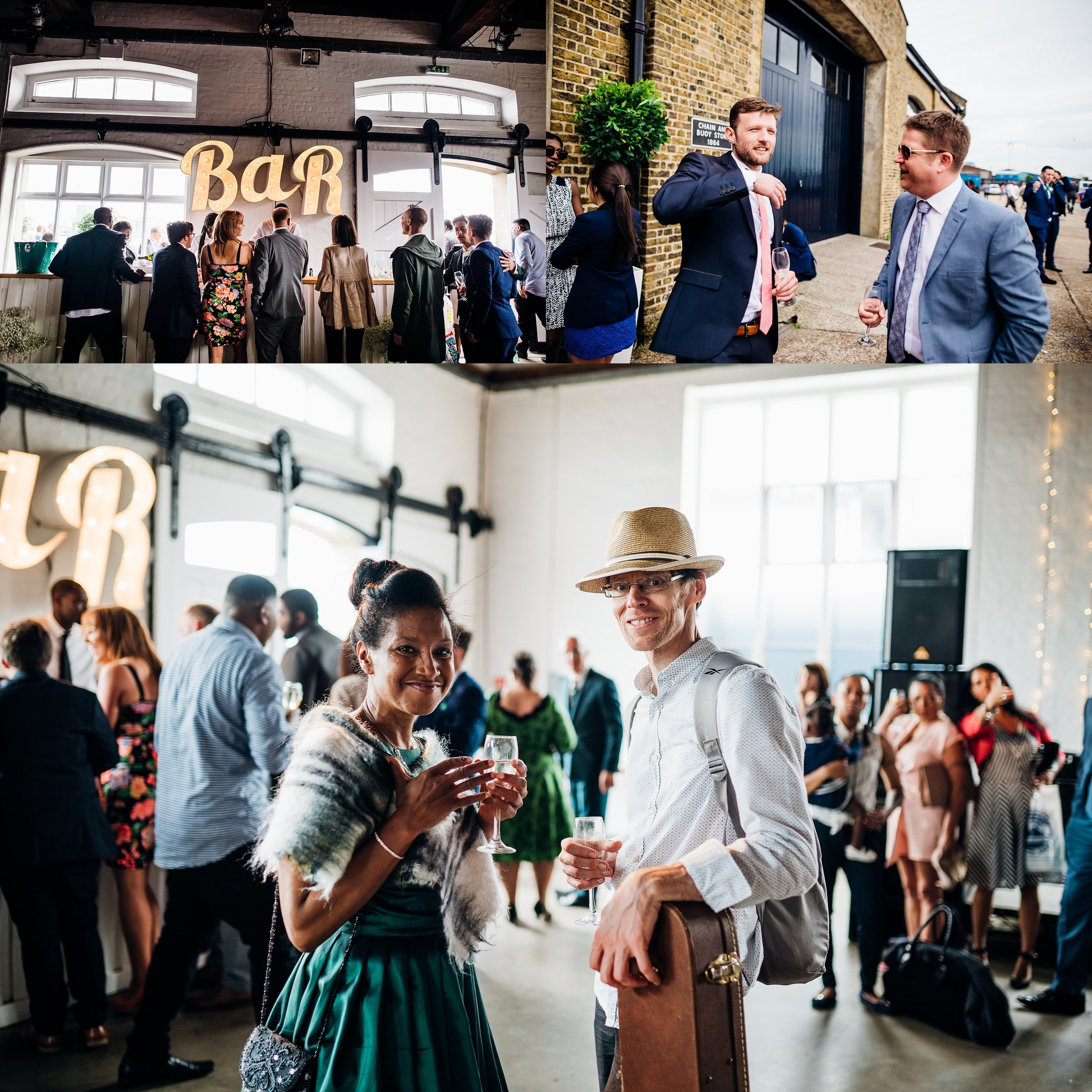 FUNKY CARIBBEAN FUSION TRINITY BUOY WHARF LONDON WEDDING_0019.jpg