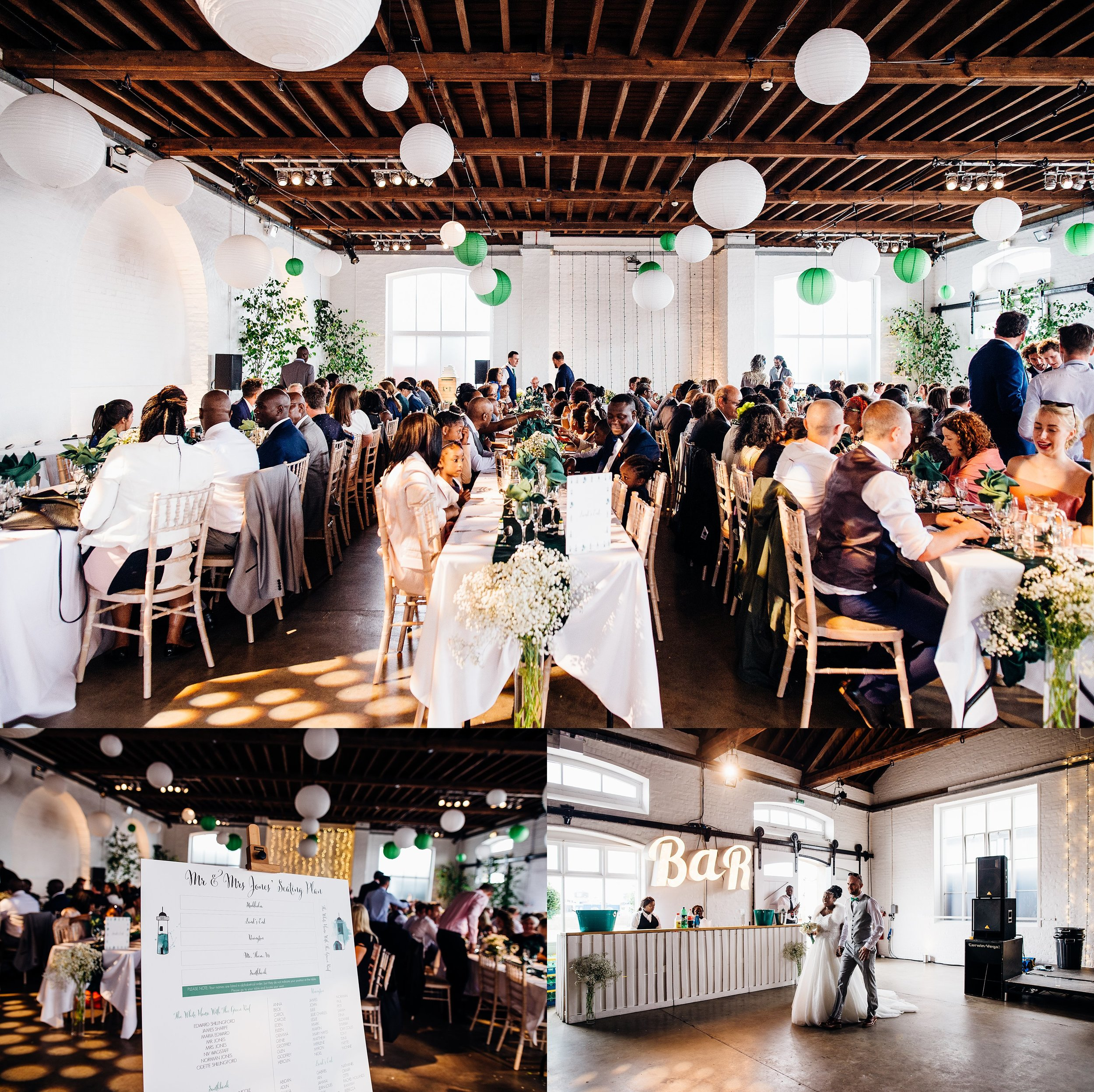 FUNKY CARIBBEAN FUSION TRINITY BUOY WHARF LONDON WEDDING_0025.jpg