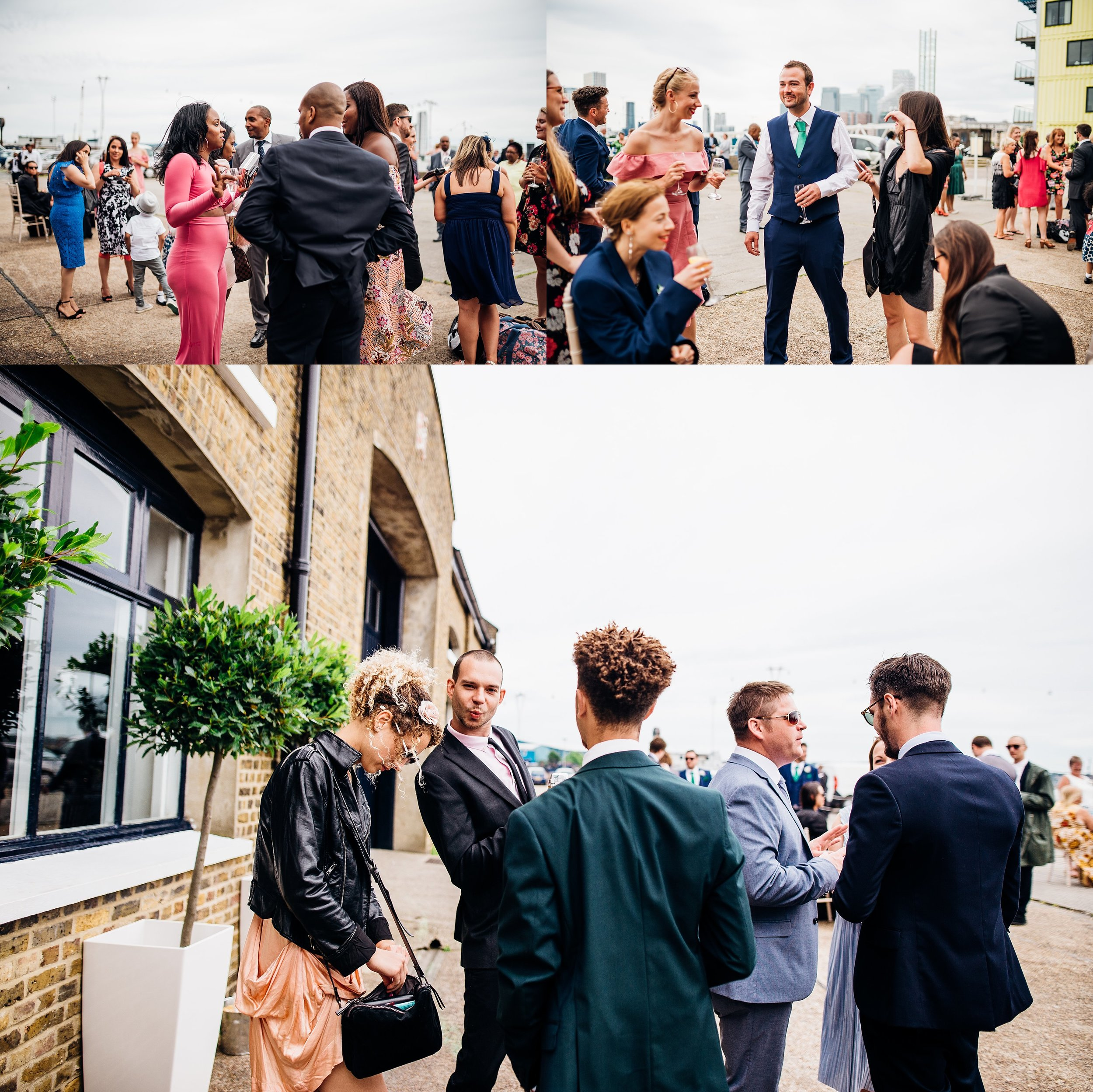 FUNKY CARIBBEAN FUSION TRINITY BUOY WHARF LONDON WEDDING_0022.jpg
