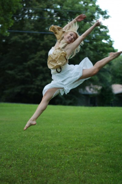 I'll always be a dancer, whether I can move or not.