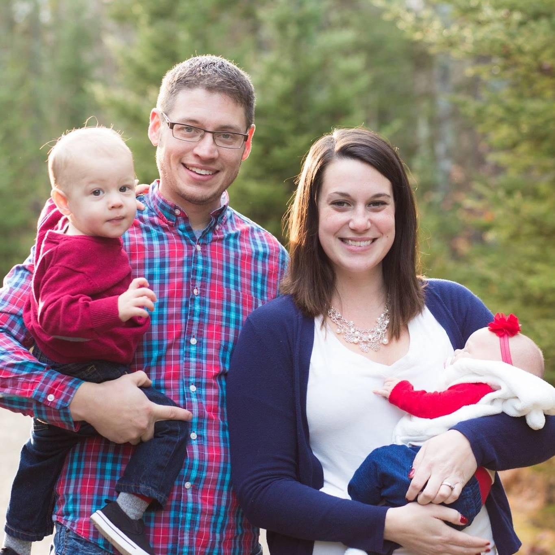 Megan, Chris, Chase, and Mia