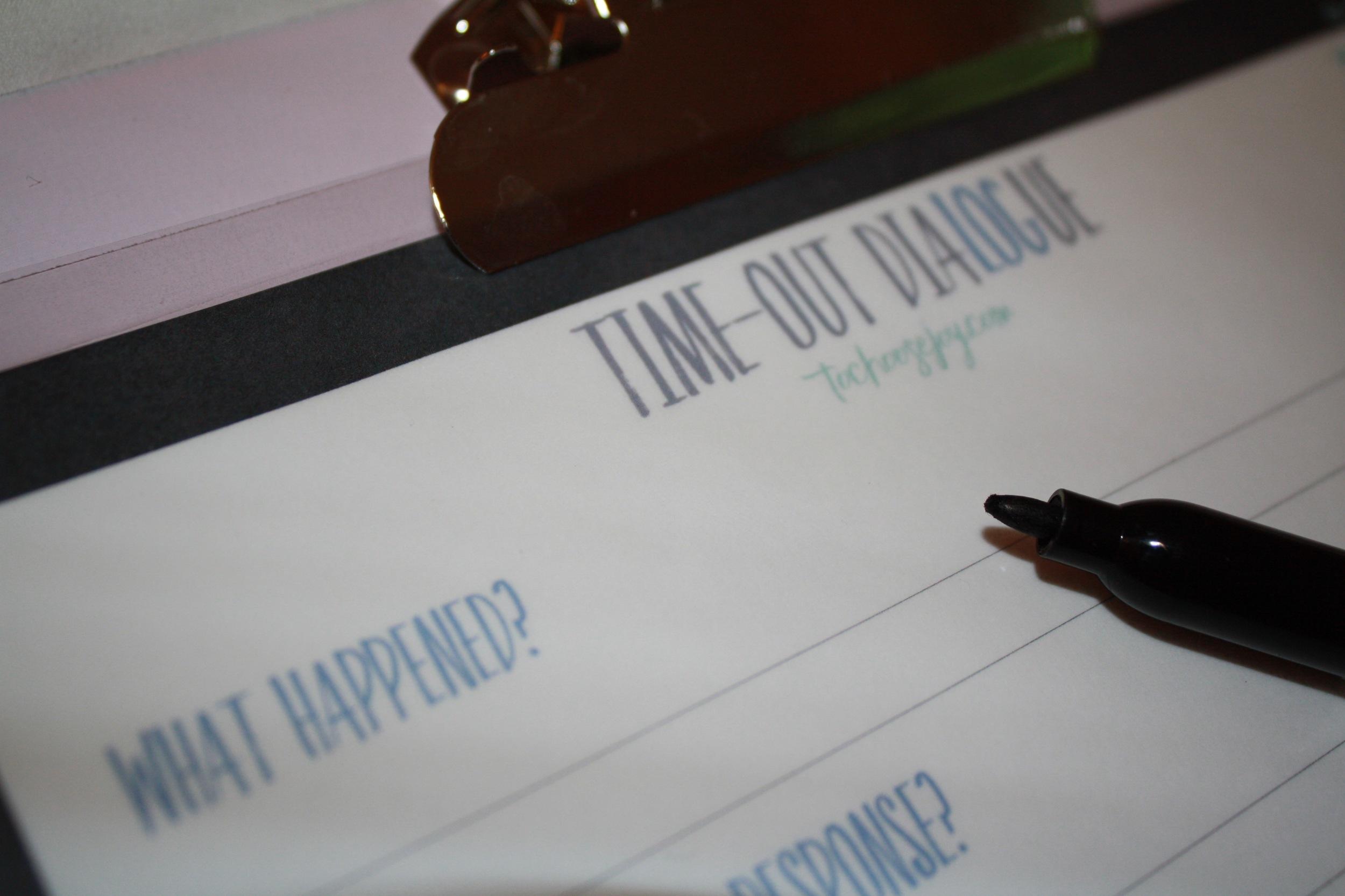 Game Plan Time Out Christian Parenting Dialogue_Becky Bennett
