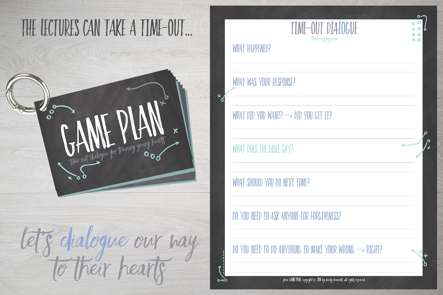 To Choose Joy_Game Plan_Time Out Dialogue_Becky Bennett_Parenting