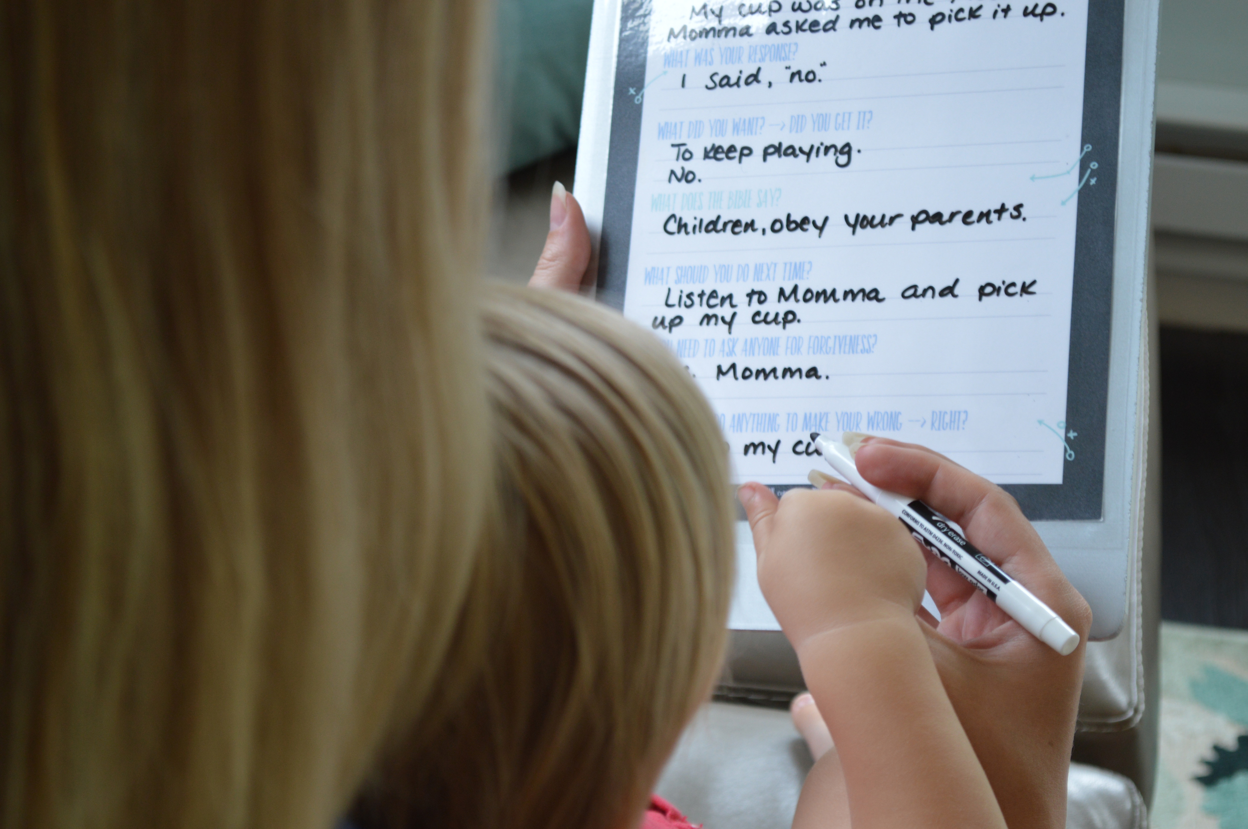 Game Plan_Time Out Dialogue for Training Young Hearts_Parenting Series_Becky Bennett