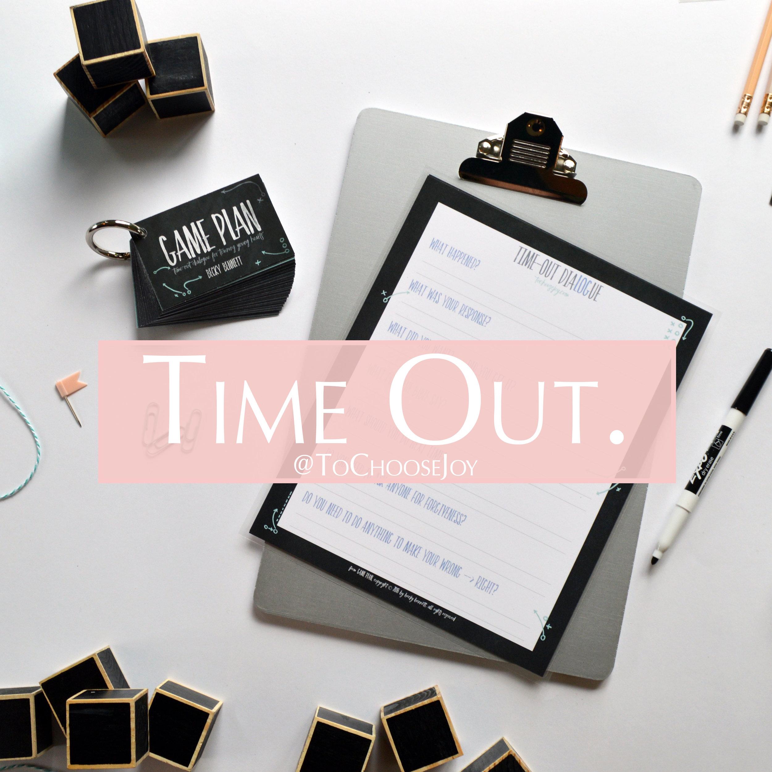 Game Plan_Becky Bennett_Parenting_Time Out Dialogue